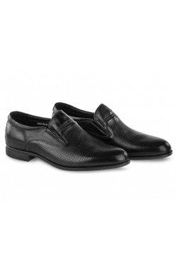 Туфли мужские Carlo Delari 7202045 цвет черный, кожа