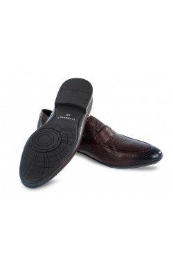 Туфли мужские Clemento 7202302 цвет тёмно-коричневый, кожа