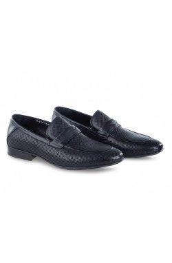 Туфли мужские Clemento 7202303 цвет синий, кожа