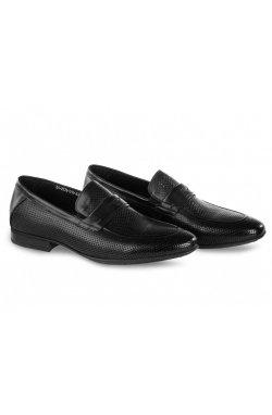 Туфли мужские Clemento 7202304 цвет черный, кожа