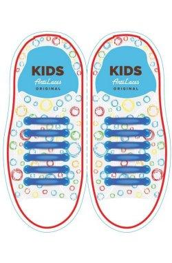 Детские прямые силиконовые антишнурки для кроссовок и кед
