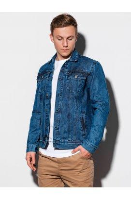 Мужская джинсовая куртка C441 - джинс - Ombre