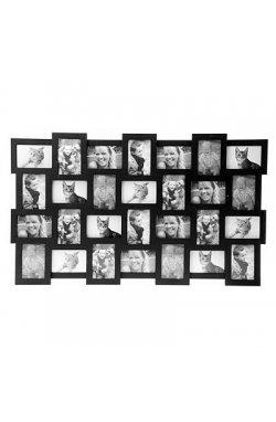 Фоторамка Collage 28, черная - wos25