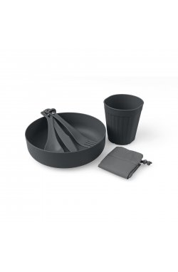 Набор посуды Sea to Summit - DeltaLight Solo Set 1.1 (1 Mug, 1 Bowl), Grey, р. (STS ADLTSOLOSETGY)
