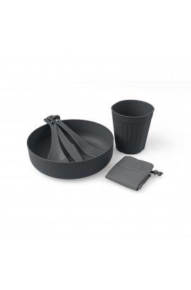 Набір посуду Sea to Summit - DeltaLight Solo Set 1.1 (1 Mug, 1 Bowl), Grey, р. (STS ADLTSOLOSETGY)