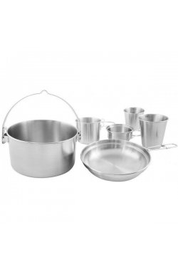 Набор посуды Tatonka - Mini Set II, Silver (TAT 4145.000)