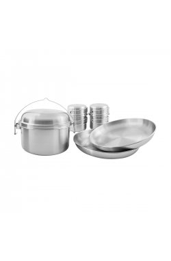 Набор посуды Tatonka - Picnic Set II, Silver (TAT 4140.000)