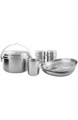 Набор посуды Tatonka - Picnic Set III, Silver (TAT 4141.000)