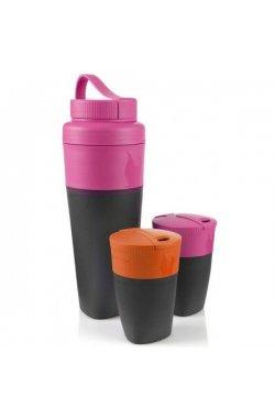 Набор стаканов Light My Fire - Pack-up-Drink Kit Fuchsia/Orange (LMF 50699340)