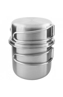 Набор кружек Tatonka - Handle Mug 500 Set, Silver (TAT 4172.000)