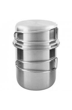 Набор кружек Tatonka - Handle Mug 600 Set, Silver (TAT 4173.000)