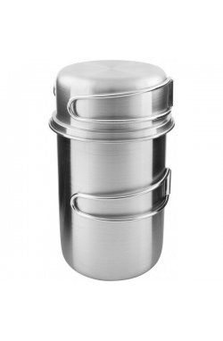 Набор кружек Tatonka - Handle Mug 850 Set, Silver (TAT 4174.000)