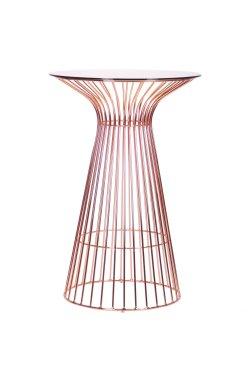 Стол Maleo, rose gold, glass top - AMF - 545683