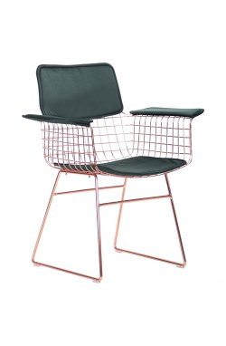 Кресло Mino, rose gold, emerald - AMF - 545688