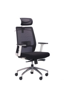 Кресло Install White, Alum, Black/Black - AMF - 545744