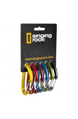 Набір карабінів Singing Rock - Vison Straight 6 Pack (SR K0009EE60)