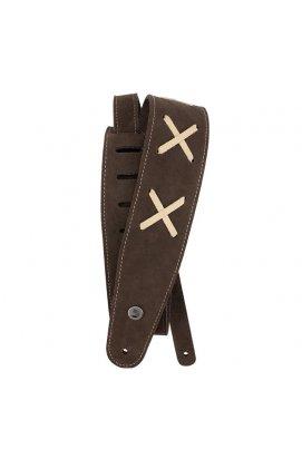 Ремень гитарный D`ADDARIO 25VDG00 Suede Guitar Strap (Brown)