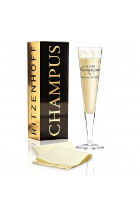 Келих для шампанського від Natalia Yablunovska (Час пити шампанське) - wos7015