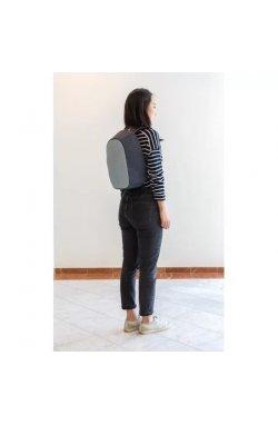 Рюкзак антивор с тревожной кнопкой XD Design Bobby Cathy Backpack Blue (P705.215) - wos8118