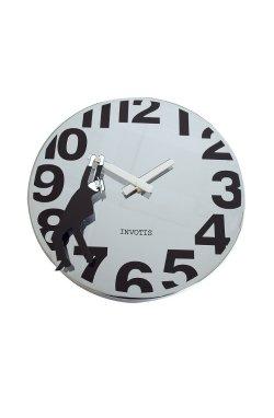 "Часы настенные ""Herald"", серебристые - wos433"