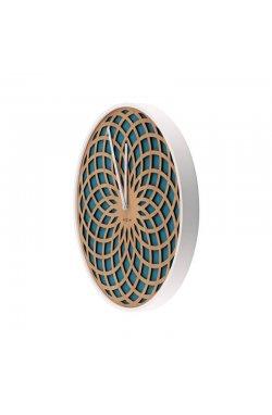 """Часы настенные """"Sun Small Turquoise"""" - wos653"""
