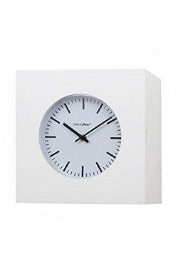 Часы настенные Balvi Qubo, белые - wos3044