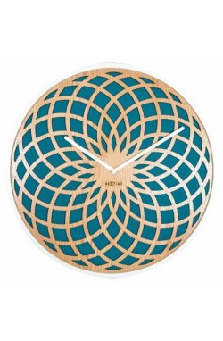 """Часы настенные """"Sun Large Turquoise"""" - wos5085"""