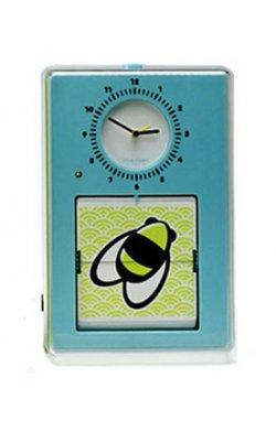 """Часы настенные """"Flip"""", голубые - wos5099"""