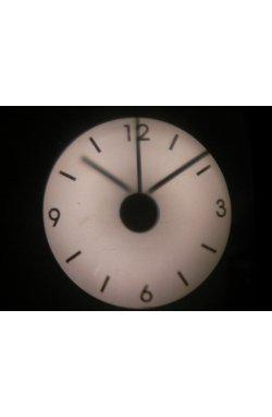 Часы проекционные белые - wos7131