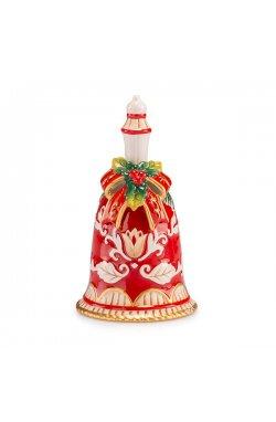 """Новогодняя игрушка """"Колокольчик"""",  14 см - wos7609"""