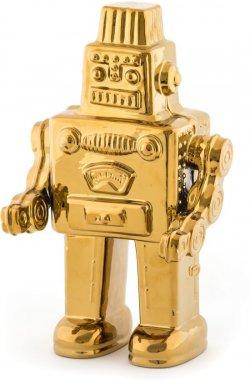 Робот фарфор, золото - wos7756