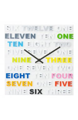 """Часы настенные """"One Two Three"""" - wos8290"""