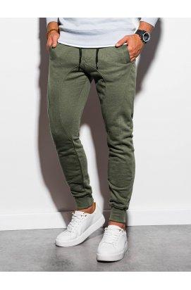 Чоловічі спортивні штани P867 - олівкоие - Ombre