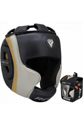 Боксерский шлем RDX Aura Golden XL