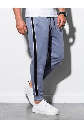 Чоловічі спортивні штани P898 - блакитний - Ombre