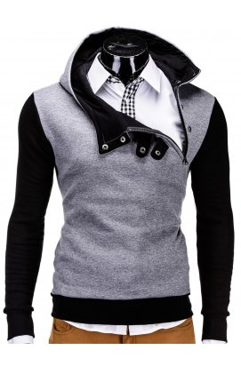 Толстовка мужская PACO - Темно- Серый/черный