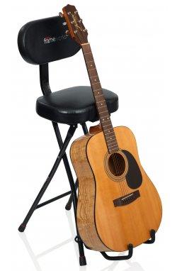 Стойка, держатель GATOR FRAMEWORKS GFW-GTR-SEAT Guitar Seat/Stand Combo