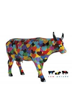 Коллекционная статуэтка корова Heartstanding Cow - wos409