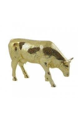"Коллекционная статуэтка корова ""Mira Moo-Gold"" - wos4274"
