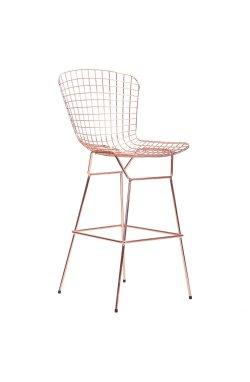 Барный стул Todi, rose gold - AMF - 545682