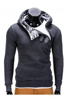 Толстовка мужская PACO - Темно- Серый/камуфляжный