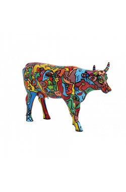 "Коллекционная статуэтка корова ""Moo York Celebration"" - wos8662"