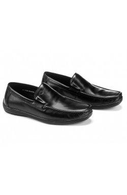 Мокасины мужские Clemento 7201301 цвет черный, кожа