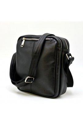 Кожаный мессенджер для мужчин GA-60121-4lx бренда TARWA Черный