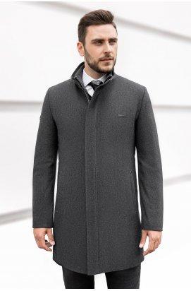 Пальто мужское Р-045 (Neo & Gilet) — Серый