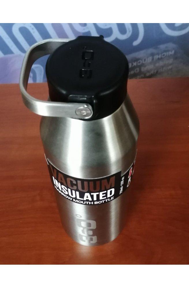 Термофляга 360° degrees Vacuum Insulated Stainless Narrow Mouth Bottle, Black, 750 ml (STS 360BOTNRW750BK)