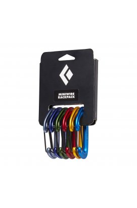 Набор карабинов Black Diamond MiniWire Rackpack, No color, One Size (BD 381129.0000)