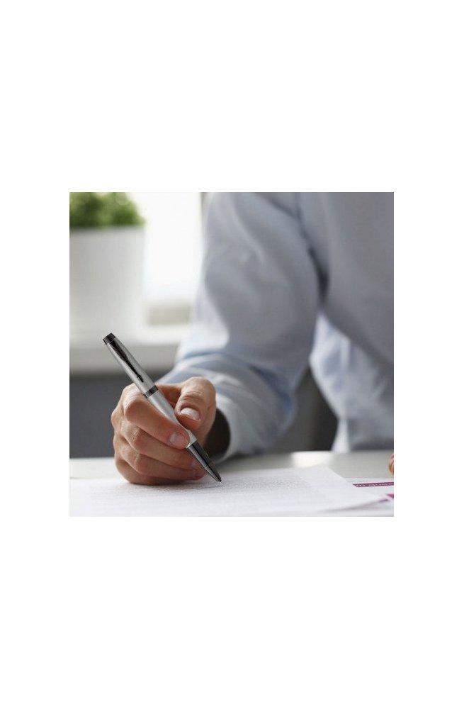 Ручка роллер Parker IM 17 Achromatic 22 822, Корпус - Серый, Франция