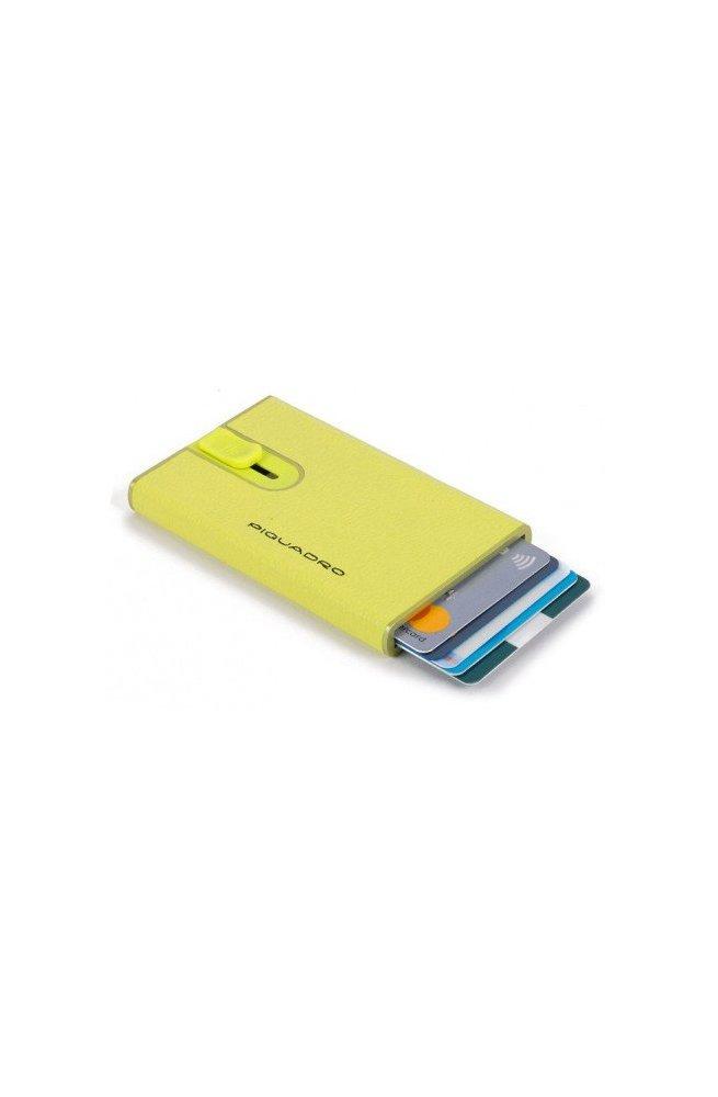 Кредитница Piquadro EMPIRE/Yellow PP4825EMR_G, Италия