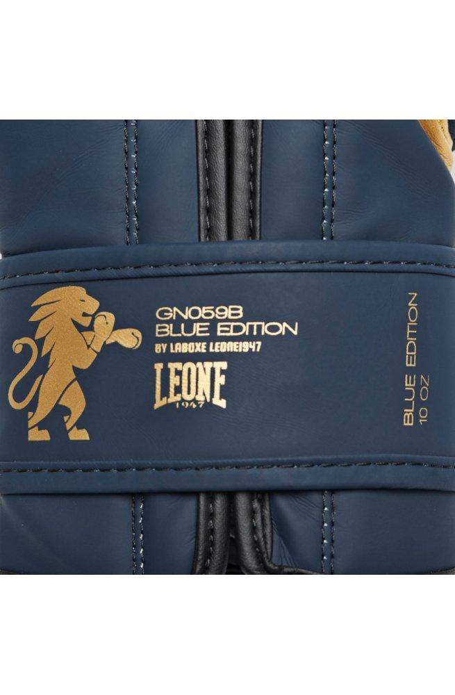 Боксерские перчатки Leone Mono Blue